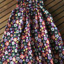 Vestido Florido fresquinho - 10 anos - Tyrol