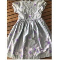Vestido de bolas lilás