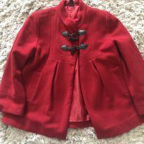 Casaco de lã - com corinho desgastado - 5 anos - Zara