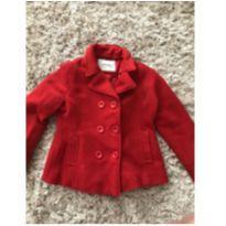 Casaco de lã vermelho - Lindo - 8 anos - Sem marca