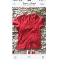 Blusinha vermelha linda tyrol - 7 anos - Tyrol