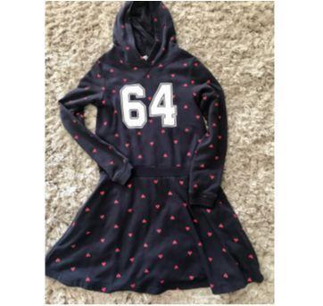 Vestido malha Manga Comprida - 8 anos - H&M