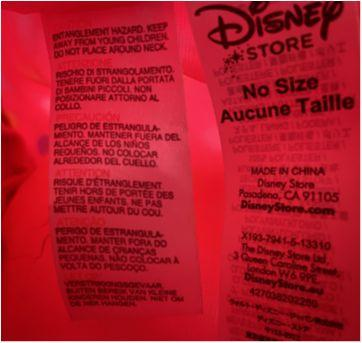 Bolsinha mochila Minnie - Sem faixa etaria - Disney