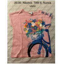 Camiseta da Náutica nunca usada - 8 anos - Nautica