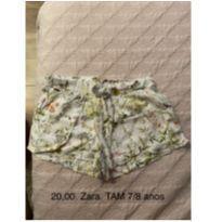 Shorts da Zara - 7 anos - Zara