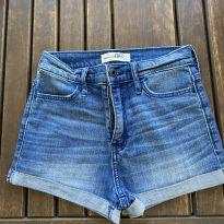 Shorts jeans - 12 anos - Abercrombie
