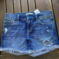 Shorts jeans - 11 anos - Abercrombie