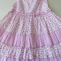 Vestido de Tecido Lilás - 2 anos - EPK