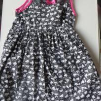 Lindo Vestido Alphabeto - Rostinhos - 4 anos - Alphabeto