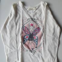 Blusa de Manga Comprida Sfera - Branca - 4 anos - Sfera