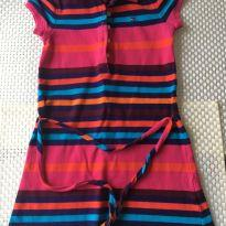 Vestido Tommy Hilfiger - Tamanho 4/5 - 5 anos - Tommy Hilfiger