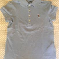 Camisa Polo Ralph Lauren Azul - 6 anos - Ralph Lauren