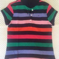 Camisa Polo Tommy Hilfiger - 6 anos - Tommy Hilfiger