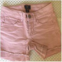 Bermuda Jeans GAP - Rosa - 6 anos - GAP