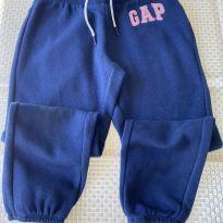 Calça de Moletom da GAP Azul Marinho - 6 anos - GAP