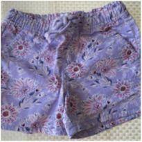 Short de Tecido Floral GAP - 6 anos - GAP