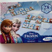Jogo de Dominó Frozen -  - Xalingo