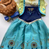Fantasia da Elsa + Peruca Disney - 8 anos - Disney
