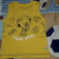 Camiseta regata tigor - 1 ano - Tigor Baby