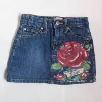 Saia jeans - 3 anos - Importada