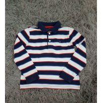 Camiseta Polo Tommy manga longa - 3 anos - Tommy Hilfiger