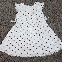 Vestido bolinha - 18 a 24 meses - Chicco/PUC/Havaianas