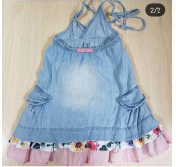 Vestido jeans Lilica Ripilica - 24 a 36 meses - Lilica Ripilica