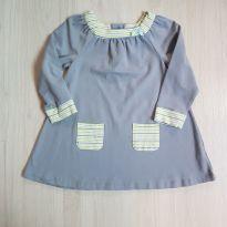 Vestido lindinho manga longa - 2 anos - Off Spring
