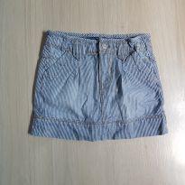 Saia jeans listrada importada - 2 anos - Arizona Jeans - USA