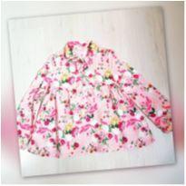 Bata floral - 4 anos - Palomino