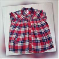 Camisa Xadrez - 5 anos - Lilica Ripilica
