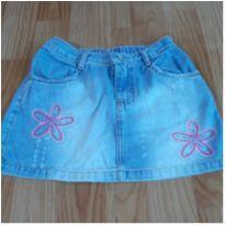 Saia jeans - 9 anos - Palomino
