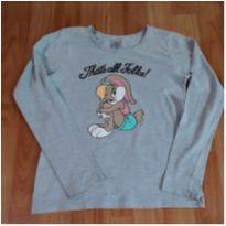 Camiseta manga longa - 8 anos - Looney Tunes