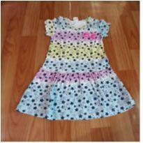 Vestido estrelas - 4 anos - Kids