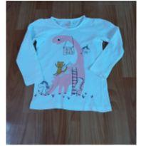 Camiseta manga longa - 24 a 36 meses - Baby Club