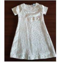 Vestido offwhite - 5 anos - Petistil