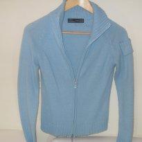 Blusa lã azul clara Zara - 12 anos - Zara