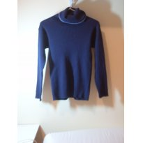Blusa de lã azul marinho - 3 anos - Jacadi Paris