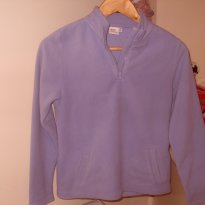 Blusão Soft Cinza Azulado - 12 anos - Simply Basic