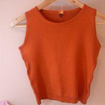 Camiseta de linha laranja - 12 anos - Não informada