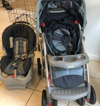 Travel System Graco (Carrinho + Bebe Conforto) - Sem faixa etaria - Graco