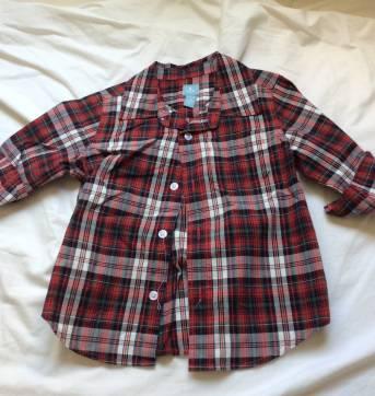 Camisa baby gap, importada, tam3 - 3 anos - Baby Gap