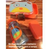 Kit marmita, pote de fruta e copo, skiphop (1) -  - Skip Hop