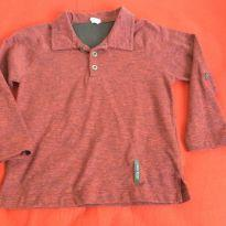 Camisa polo ML Green, tam4 - 4 anos - Green