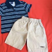 Conj short e camiseta, tam 3 - 24 a 36 meses - Kiko