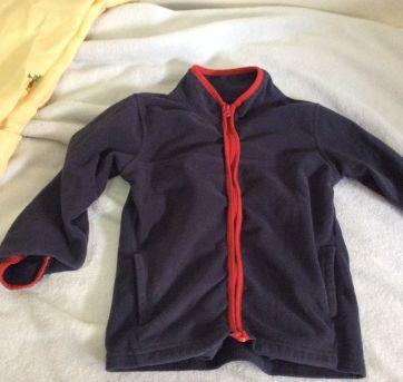 Kit casaco e calca fleece, importado, oshkosh, tam 4 (2) - 4 anos - OshKosh e Carter`s