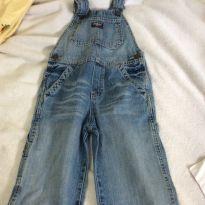 Macacao jeans oshkosh, importado, tam4 - 4 anos - OshKosh e Carter`s