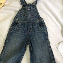 Macacão jeans oshkosh, importado, tam4 - 4 anos - OshKosh e Carter`s