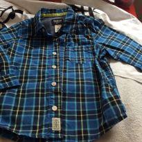 Camisa oshkosh, tam4 - 4 anos - OshKosh e Carter`s