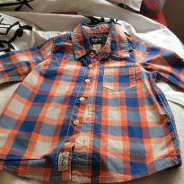 Camisa listada oshkosh - 4 anos - OshKosh e Carter`s